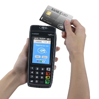 Example of person using paywave