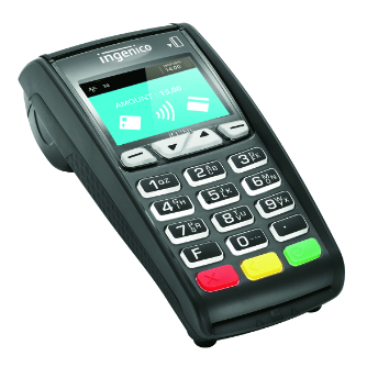Ingenico ICT250 eftpos machine